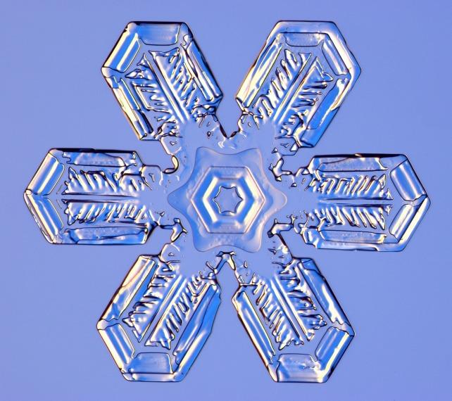 44 снежинки под катом.