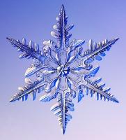 фото снежинки