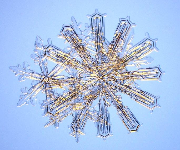 unusual snow crystals