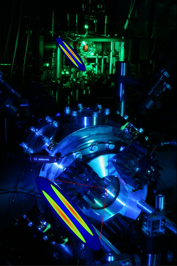 Entangled distant quantum memories in the Kimble lab.