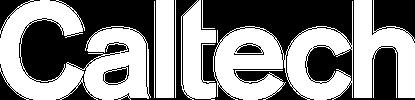Caltech Logo White