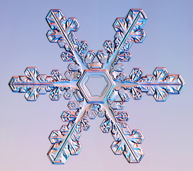 snowflakes no two alike