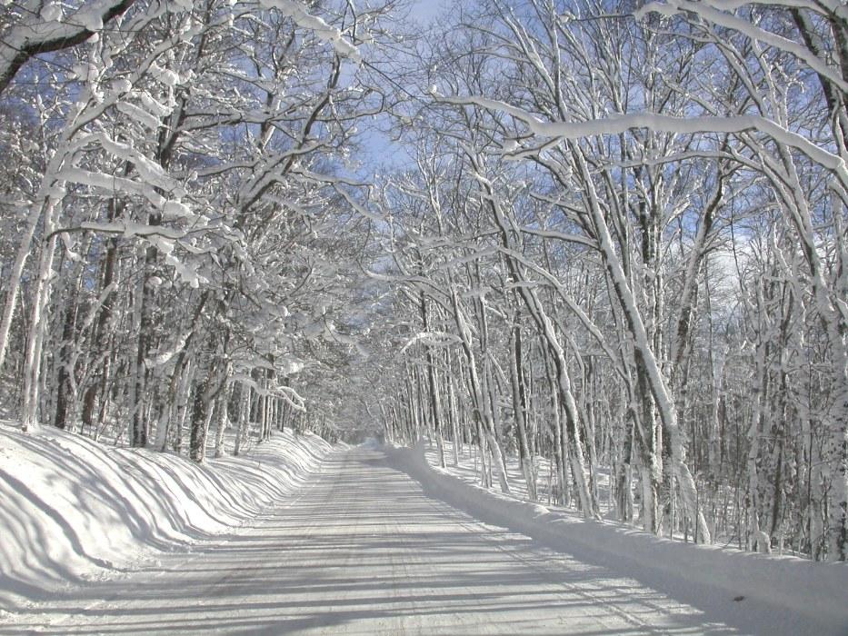 Snowflake Touring Michigan Upper Peninsula