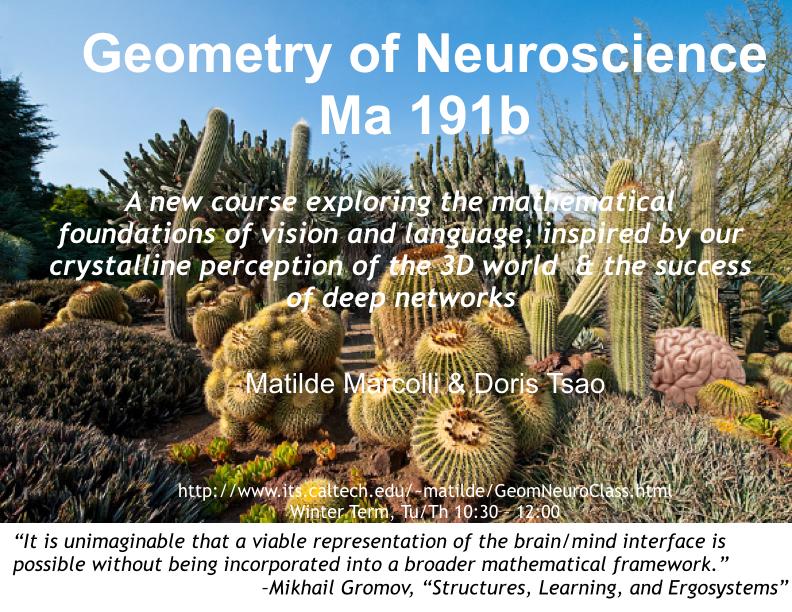 Geometry of Neuroscience
